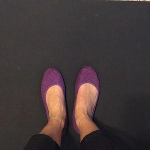 668964451 Mesh Sidekicks Shoes | Purple Mesh Foldable Flats | Poshmark